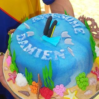 Celebration Cake For My Son