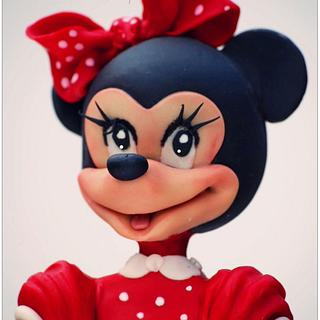 Minnie Mouse - Cake by VictoriaBean