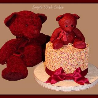 Inspiration Bear - Cake by Stef and Carla (Simple Wish Cakes)