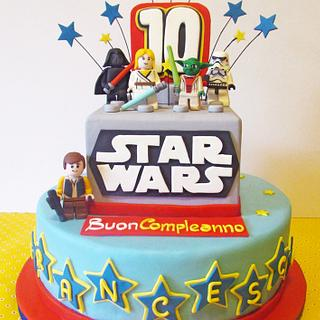 Lego Star Wars - Cake by Fatto di Zucchero