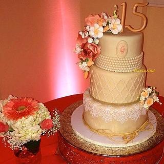 Quincinera Cake