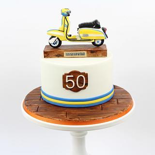 Lambretta cake  - Cake by Nina