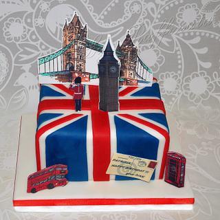 London Cake - Cake by La Raffinata