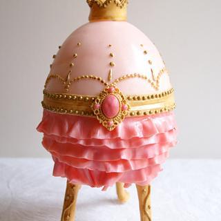 Fabergé Egg Mini Cake