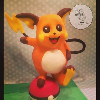 "Pokemon Go ""Raichu"""