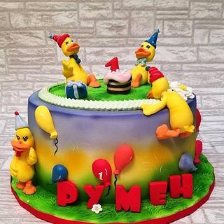 Duckling cake
