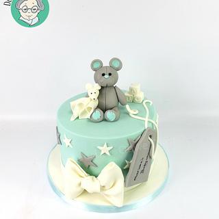 Babyshower lactose free cake - Cake by DeOuweTaart