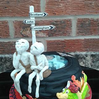 Alien trip to Scotland................Nessie beware!!