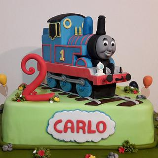 Thomas - Cake by silviacucinelli