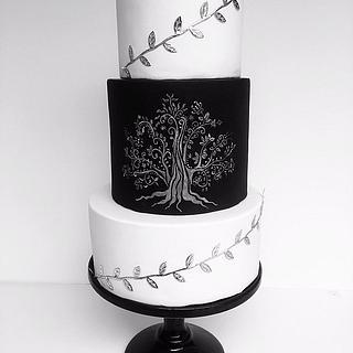 Wedding Cake 'Family Tree'