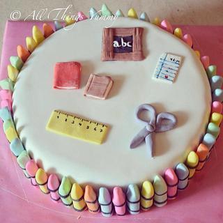 Kindergarden theme cake!