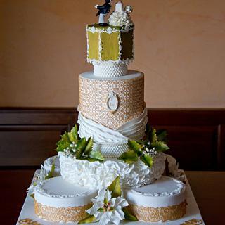 A Christmas Wedding Cake