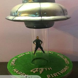 U.F.O. Birthday Cake - Cake by Choice