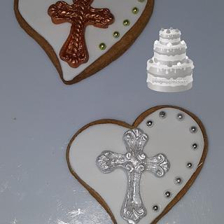 Communion or Christening cookies.