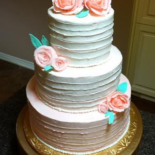 Pretty in Peach Buttercream