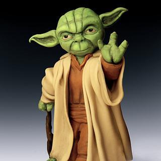 Yoda caketopper