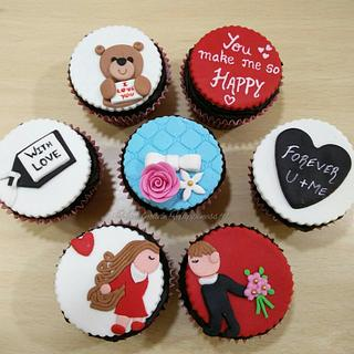 Valentines day cupcakes! - Cake by Handmade Happiness