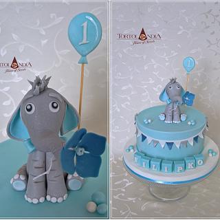 First birthday ...cute elefant