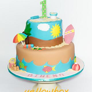 The Last Summer Cake - Cake by Yellow Box - Cakes & Pastries