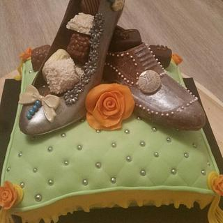 Shoes lovers cake