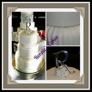 Wedding display cake
