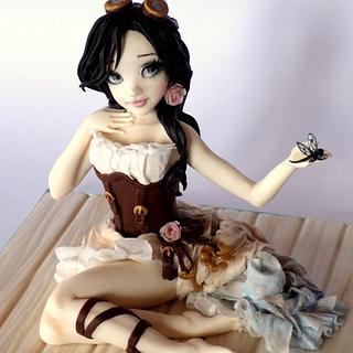 Isabella... steampunk doll