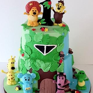 Raa Raa  - Cake by Agnieszka