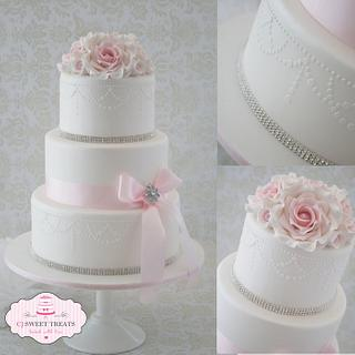 Pearly Pink Wedding