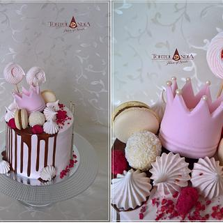Drip cake for Julianka