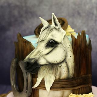 Horse cake - Cake by crazycakes