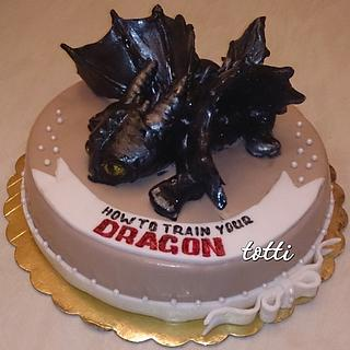 How to train a dragon - Cake by totti