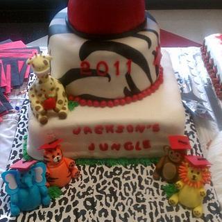 Kindergarten Graduation - Cake by Kim Hood