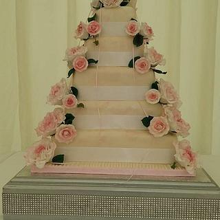 Saved from disaster Wedding cake