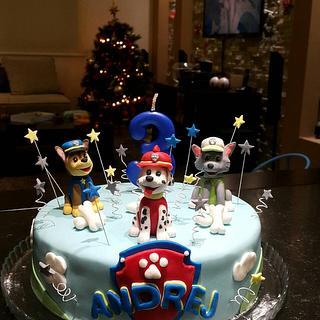 PawPatrol cake - Cake by Torte Panda