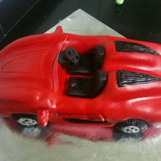 My first Ferrari cake