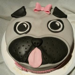 A little pug cake!