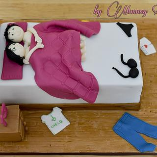 Anniversary Cake - Cake by Mommy Sue