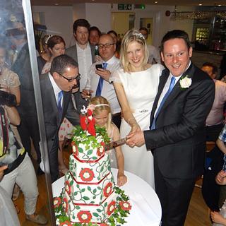 Tudor wedding cake