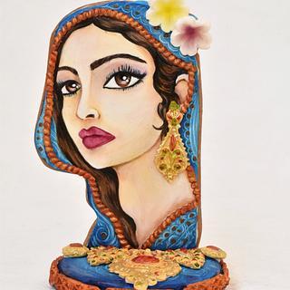 Pakistani lady cookie