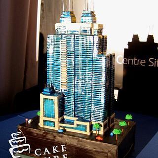 Building downtown Edmonton, Canada