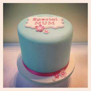 Mini Mum cake