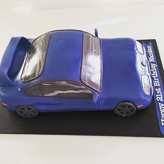 Delicious Car Cake - Cake by Creative Cakes - Deborah Feltham
