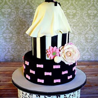 Bridal Gown Shower Cake