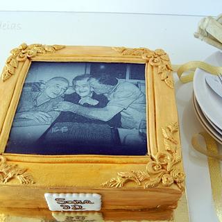 Cake Frame - Cake by Bolos e Ideias by Patricia Pacheco