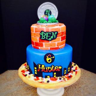 TNMT cake
