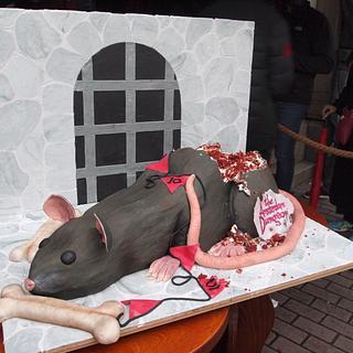 Rat Cake - Cake by Sugarlips Cakes