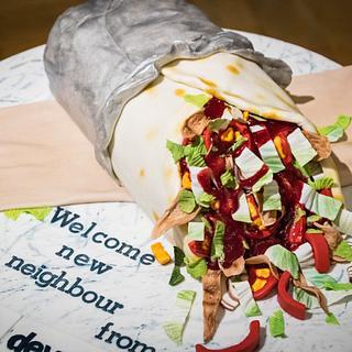 Kebab cake - Cake by LidiaNadolska