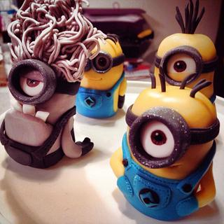 Minion Cake Toppers