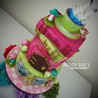 Alice in Wonderland Cake - Cake by PeggySuesCC