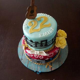 Phenomenal Country Western 12 Cakes Cakesdecor Funny Birthday Cards Online Barepcheapnameinfo